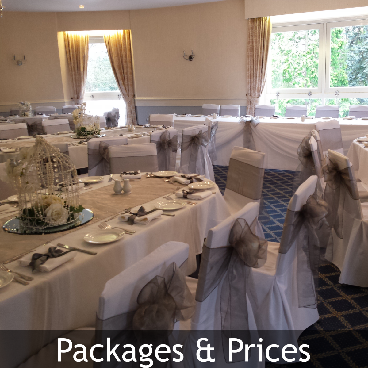 Venue Dresser Packages & Prices